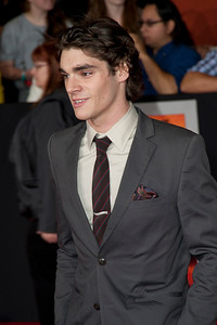 """LOS ANGELES, CA - FEBRUARY 22: Actor RJ Mitte arrives at the world premiere of Disney's """"John Carter"""" on Wednesday. February 22, 2012 at Regal Cinemas in downtown Los Angeles. Photo taken by Tom Sorensen/Moovieboy Pictures."""