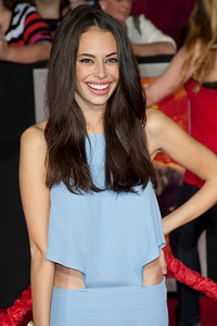 """LOS ANGELES, CA - FEBRUARY 22: Actress Chloe Bridges arrives at the world premiere of Disney's """"John Carter"""" on Wednesday. February 22, 2012 at Regal Cinemas in downtown Los Angeles. Photo taken by Tom Sorensen/Moovieboy Pictures."""