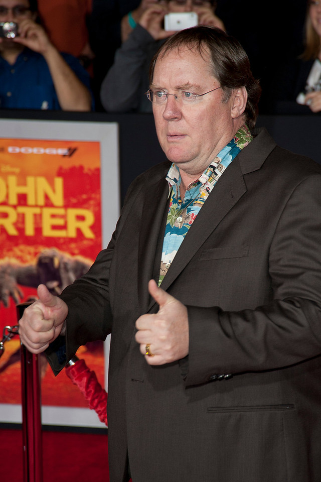 "LOS ANGELES, CA - FEBRUARY 22: Director John Lasseter arrives at the world premiere of Disney's ""John Carter"" on Wednesday. February 22, 2012 at Regal Cinemas in downtown Los Angeles. Photo taken by Tom Sorensen/Moovieboy Pictures."