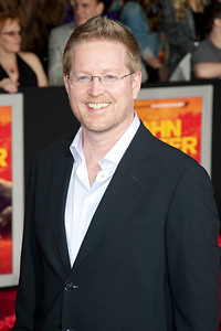 """LOS ANGELES, CA - FEBRUARY 22: Director/writer Andrew Stanton arrives at the world premiere of Disney's """"John Carter"""" on Wednesday. February 22, 2012 at Regal Cinemas in downtown Los Angeles. Photo taken by Tom Sorensen/Moovieboy Pictures."""