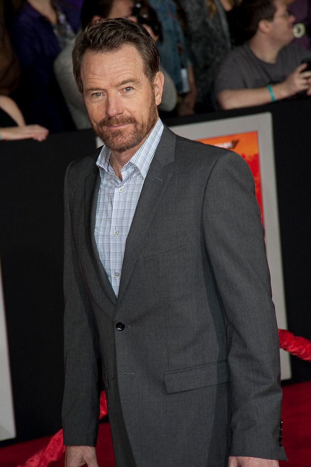 """LOS ANGELES, CA - FEBRUARY 22: Actor Bryan Cranston arrives at the world premiere of Disney's """"John Carter"""" on Wednesday. February 22, 2012 at Regal Cinemas in downtown Los Angeles. Photo taken by Tom Sorensen/Moovieboy Pictures."""
