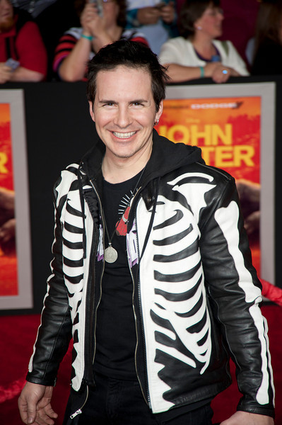 """LOS ANGELES, CA - FEBRUARY 22: Actor Hal Sparks arrives at the world premiere of Disney's """"John Carter"""" on Wednesday. February 22, 2012 at Regal Cinemas in downtown Los Angeles. Photo taken by Tom Sorensen/Moovieboy Pictures."""