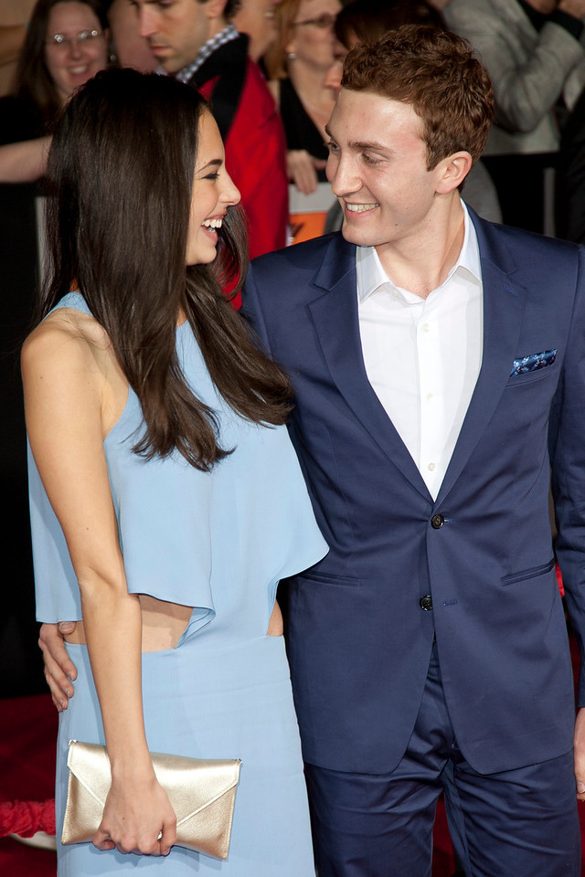 """LOS ANGELES, CA - FEBRUARY 22: Actress Chloe Bridges and actor Daryl Sabara arrive at the world premiere of Disney's """"John Carter"""" on Wednesday. February 22, 2012 at Regal Cinemas in downtown Los Angeles. Photo taken by Tom Sorensen/Moovieboy Pictures."""