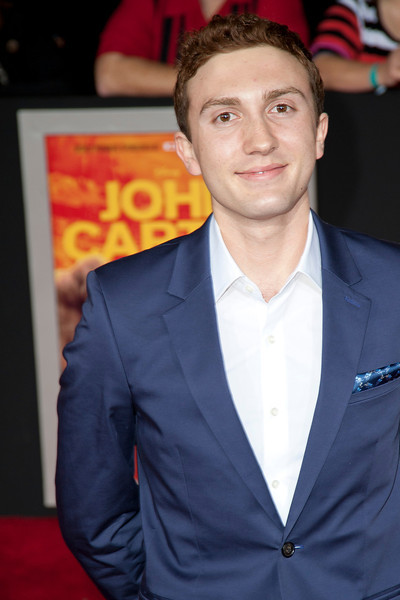"""LOS ANGELES, CA - FEBRUARY 22: Actor Daryl Sabara arrives at the world premiere of Disney's """"John Carter"""" on Wednesday. February 22, 2012 at Regal Cinemas in downtown Los Angeles. Photo taken by Tom Sorensen/Moovieboy Pictures."""
