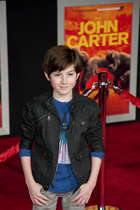 """LOS ANGELES, CA - FEBRUARY 22: Actor Mason Cook arrives at the world premiere of Disney's """"John Carter"""" on Wednesday. February 22, 2012 at Regal Cinemas in downtown Los Angeles. Photo taken by Tom Sorensen/Moovieboy Pictures."""