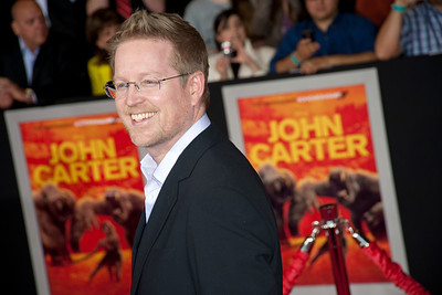 "LOS ANGELES, CA - FEBRUARY 22: Director/writer Andrew Stanton arrives at the world premiere of Disney's ""John Carter"" on Wednesday. February 22, 2012 at Regal Cinemas in downtown Los Angeles. Photo taken by Tom Sorensen/Moovieboy Pictures."