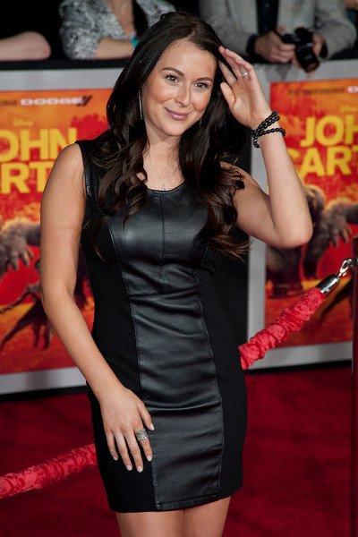 """LOS ANGELES, CA - FEBRUARY 22: Actress Alexa Vega arrives at the world premiere of Disney's """"John Carter"""" on Wednesday. February 22, 2012 at Regal Cinemas in downtown Los Angeles. Photo taken by Tom Sorensen/Moovieboy Pictures."""