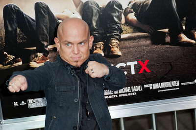 HOLLYWOOD, CA - FEBRUARY 29: Actor Martin Klebba attends the 'Project X' Los Angeles premiere held at the Grauman's Chinese Theatre on Wednesday, February 29, 2012 in Hollywood, California. Photo taken by Tom Sorensen/Moovieboy Pictures.