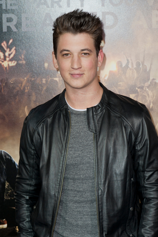 HOLLYWOOD, CA - FEBRUARY 29: Actor Miles Teller attends the 'Project X' Los Angeles premiere held at the Grauman's Chinese Theatre on Wednesday, February 29, 2012 in Hollywood, California. Photo taken by Tom Sorensen/Moovieboy Pictures.