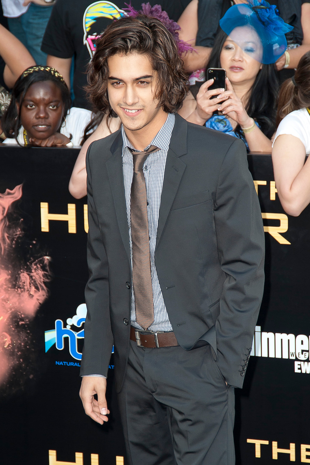 LOS ANGELES, CA - MARCH 12: Actor Avan Jorgia arrives at the premiere of Lionsgate's 'The Hunger Games' at Nokia Theatre L.A. Live on Monday, March 12, 2012 in Los Angeles, California. Photo taken by Tom Sorensen/Moovieboy Pictures.