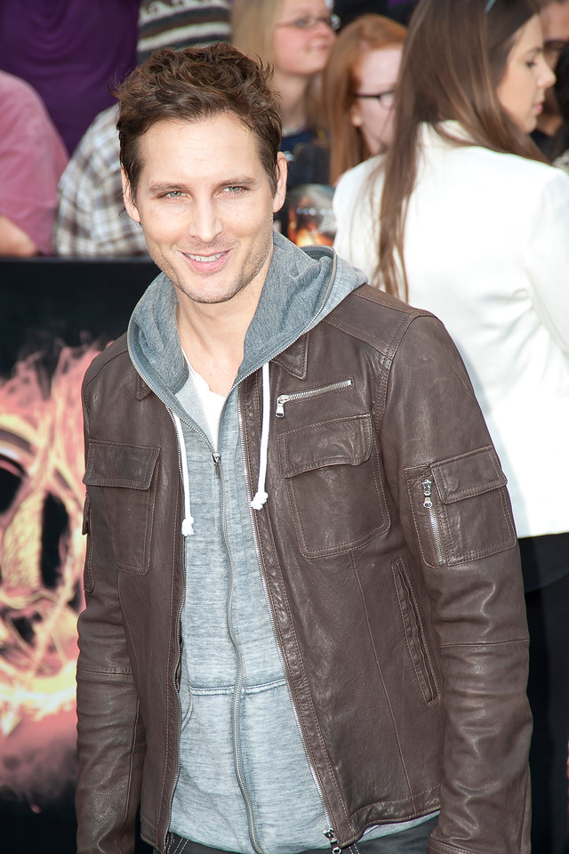LOS ANGELES, CA - MARCH 12: Actor Peter Facinelli arrives at the premiere of Lionsgate's 'The Hunger Games' at Nokia Theatre L.A. Live on Monday, March 12, 2012 in Los Angeles, California. Photo taken by Tom Sorensen/Moovieboy Pictures.
