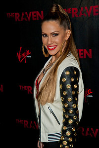 LOS ANGELES, CA - APRIL 23: Singer Kimberly Cole arrives at the Los Angeles premiere of Relativity Media's 'The Raven' held at the Los Angeles Theatre on April 23, 2012 in Los Angeles, California. Photo taken by Tom Sorensen/Moovieboy Pictures.
