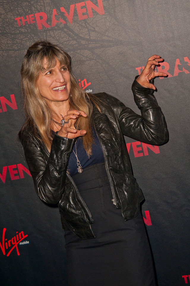 LOS ANGELES, CA - APRIL 23: Director Catherine Hardwicke arrives at the Los Angeles premiere of Relativity Media's 'The Raven' held at the Los Angeles Theatre on April 23, 2012 in Los Angeles, California. Photo taken by Tom Sorensen/Moovieboy Pictures.