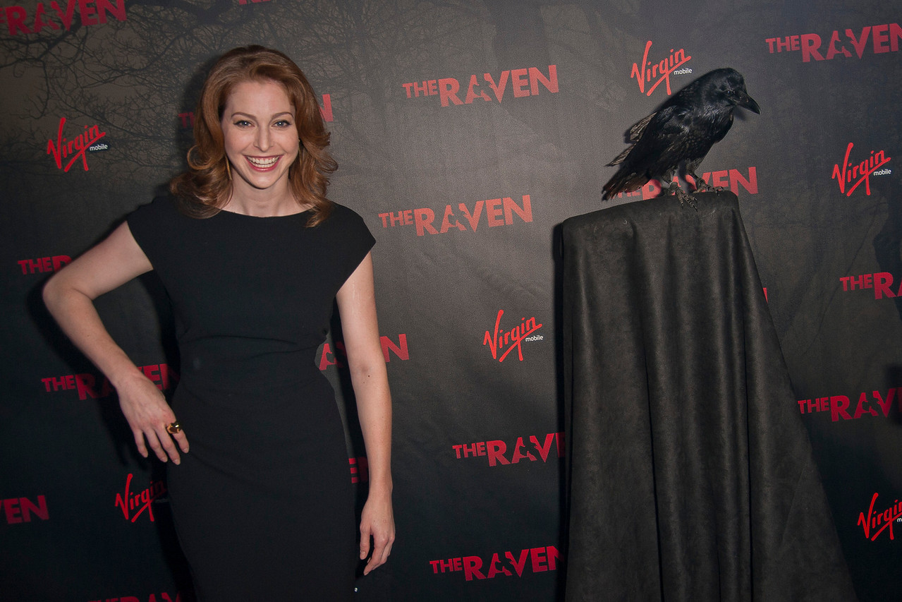 LOS ANGELES, CA - APRIL 23: Actress Esme Bianco arrives at the Los Angeles premiere of Relativity Media's 'The Raven' held at the Los Angeles Theatre on April 23, 2012 in Los Angeles, California. Photo taken by Tom Sorensen/Moovieboy Pictures.