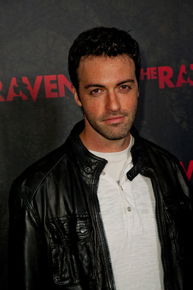 LOS ANGELES, CA - APRIL 23: Actor Reid Scott arrives at the Los Angeles premiere of Relativity Media's 'The Raven' held at the Los Angeles Theatre on April 23, 2012 in Los Angeles, California. Photo taken by Tom Sorensen/Moovieboy Pictures.