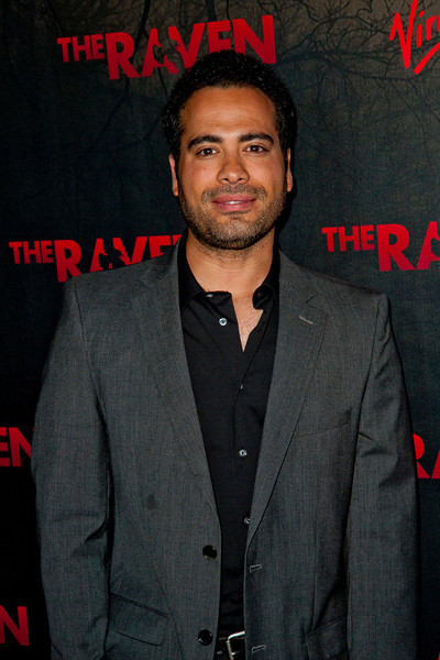 LOS ANGELES, CA - APRIL 23: Sevier Crespo arrives at the Los Angeles premiere of Relativity Media's 'The Raven' held at the Los Angeles Theatre on April 23, 2012 in Los Angeles, California. Photo taken by Tom Sorensen/Moovieboy Pictures.