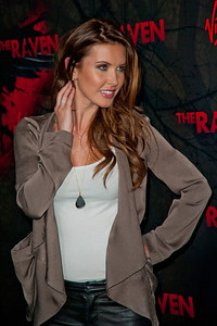 LOS ANGELES, CA - APRIL 23:  TV Personality Audrina Partridge arrives at the Los Angeles premiere of Relativity Media's 'The Raven' held at the Los Angeles Theatre on April 23, 2012 in Los Angeles, California. Photo taken by Tom Sorensen/Moovieboy Pictures.