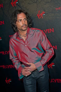 LOS ANGELES, CA - APRIL 23: Actor Richard Grieco arrives at the Los Angeles premiere of Relativity Media's 'The Raven' held at the Los Angeles Theatre on April 23, 2012 in Los Angeles, California. Photo taken by Tom Sorensen/Moovieboy Pictures.