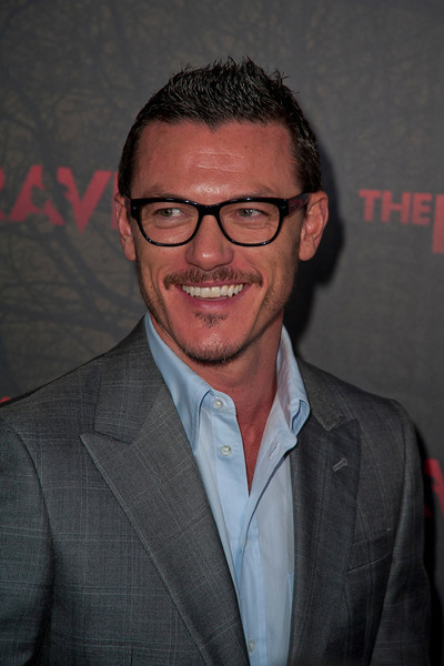 LOS ANGELES, CA - APRIL 23: Actor Luke Evans arrives at the Los Angeles premiere of Relativity Media's 'The Raven' held at the Los Angeles Theatre on April 23, 2012 in Los Angeles, California. Photo taken by Tom Sorensen/Moovieboy Pictures.