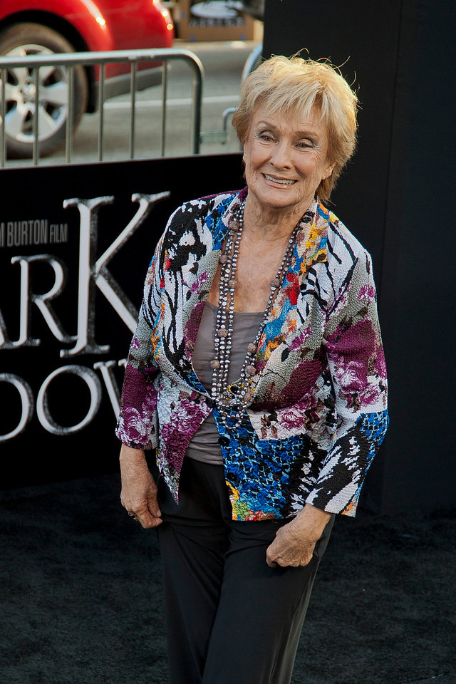 HOLLYWOOD, CA - MAY 07: Actress Cloris Leachman arrives at the Los Angeles premiere of 'Dark Shadows' held at Grauman's Chinese Theatre on May 7, 2012 in Hollywood, California. (Photo by Tom Sorensen/Moovieboy Pictures)