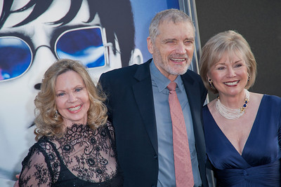HOLLYWOOD, CA - MAY 07: Actors Lara Parker, David Selby and Kathryn Leigh Scott arrive at the Los Angeles premiere of 'Dark Shadows' held at Grauman's Chinese Theatre on May 7, 2012 in Hollywood, California. (Photo by Tom Sorensen/Moovieboy Pictures)