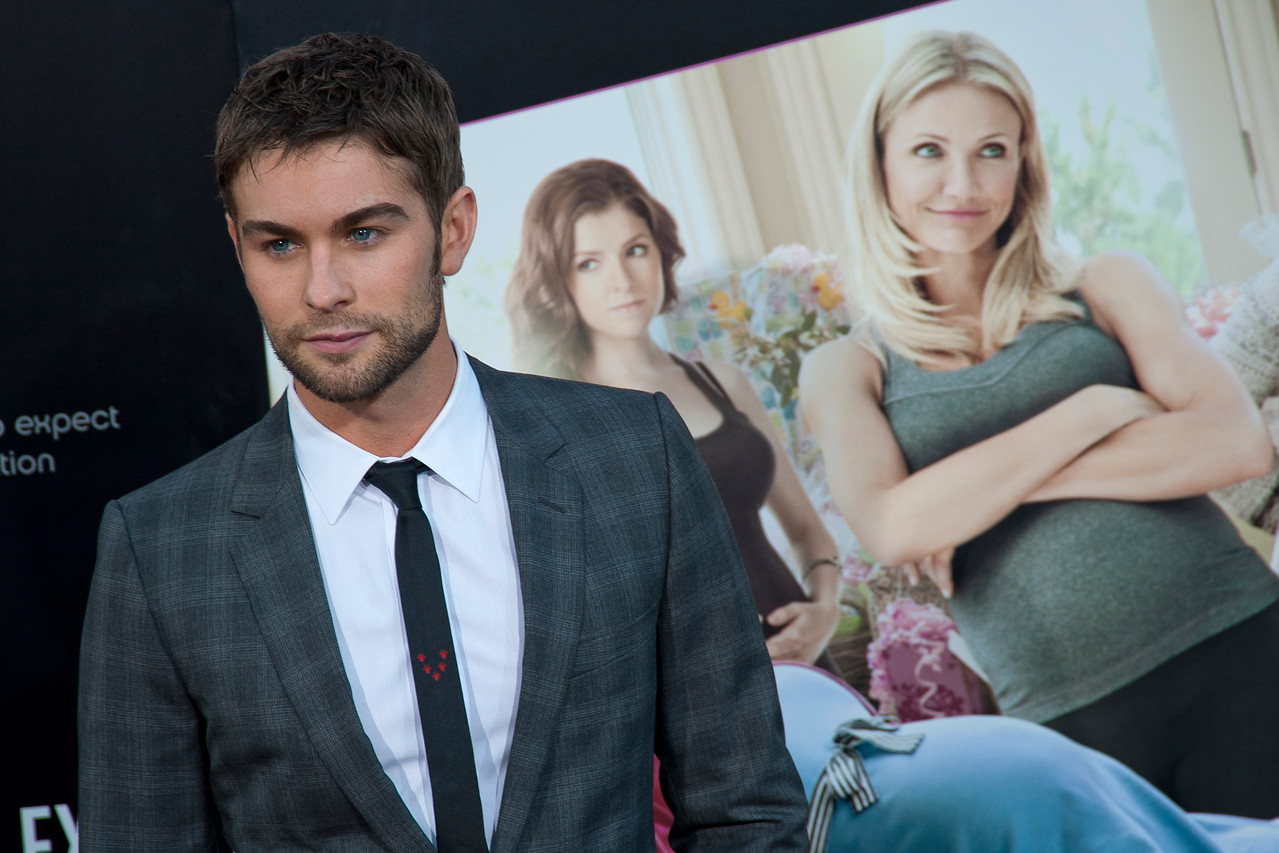 HOLLYWOOD, CA - MAY 14: Actor Chace Crawford arrives at the Lionsgate Premiere of 'What To Expect When You're Expecting' at Grauman's Chinese Theatre on May 14, 2012 in Hollywood, California. (Photo by Tom Sorensen/Moovieboy Pictures)