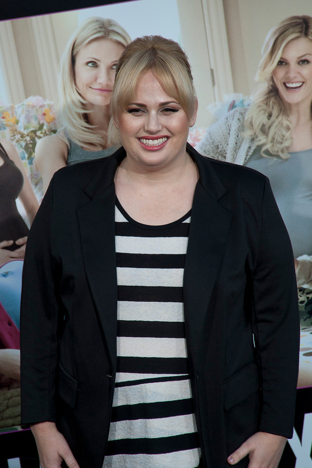 HOLLYWOOD, CA - MAY 14: Actress Rebel Wilson arrives at the Lionsgate Premiere of 'What To Expect When You're Expecting' at Grauman's Chinese Theatre on May 14, 2012 in Hollywood, California. (Photo by Tom Sorensen/Moovieboy Pictures)