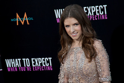 HOLLYWOOD, CA - MAY 14: Actress Anna Kendrick  arrives at the Lionsgate Premiere of 'What To Expect When You're Expecting' at Grauman's Chinese Theatre on May 14, 2012 in Hollywood, California. (Photo by Tom Sorensen/Moovieboy Pictures)