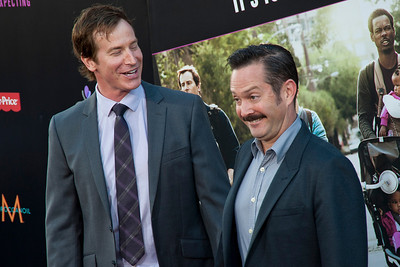 HOLLYWOOD, CA - MAY 14: Actors Ron Huebel and Thomas Lennon arrive at the Lionsgate Premiere of 'What To Expect When You're Expecting' at Grauman's Chinese Theatre on May 14, 2012 in Hollywood, California. (Photo by Tom Sorensen/Moovieboy Pictures)