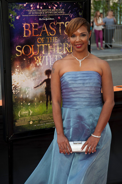 LOS ANGELES, CA: Actress Jovan Hathaway arrives at the 2012 Los Angeles Film Festival Gala Screening of 'Beasts Of The Southern Wild' at Regal Cinemas L.A. LIVE Stadium 14 on June 15, 2012 in Los Angeles, California. (Photo by Tom Sorensen/Moovieboy Pictures)