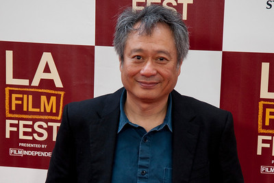 LOS ANGELES, CA: Director Ang Lee  arrives at the 2012 Los Angeles Film Festival Gala Screening of 'Beasts Of The Southern Wild' at Regal Cinemas L.A. LIVE Stadium 14 on June 15, 2012 in Los Angeles, California. (Photo by Tom Sorensen/Moovieboy Pictures)