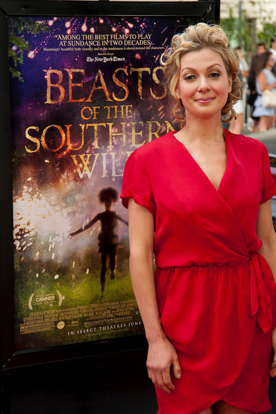 LOS ANGELES, CA: Writer Lucy Alibar arrives at the 2012 Los Angeles Film Festival Gala Screening of 'Beasts Of The Southern Wild' at Regal Cinemas L.A. LIVE Stadium 14 on June 15, 2012 in Los Angeles, California. (Photo by Tom Sorensen/Moovieboy Pictures)
