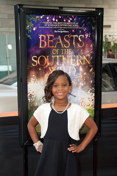 LOS ANGELES, CA: Actress Quvenzhané Wallis arrives at the 2012 Los Angeles Film Festival Gala Screening of 'Beasts Of The Southern Wild' at Regal Cinemas L.A. LIVE Stadium 14 on June 15, 2012 in Los Angeles, California. (Photo by Tom Sorensen/Moovieboy Pictures)