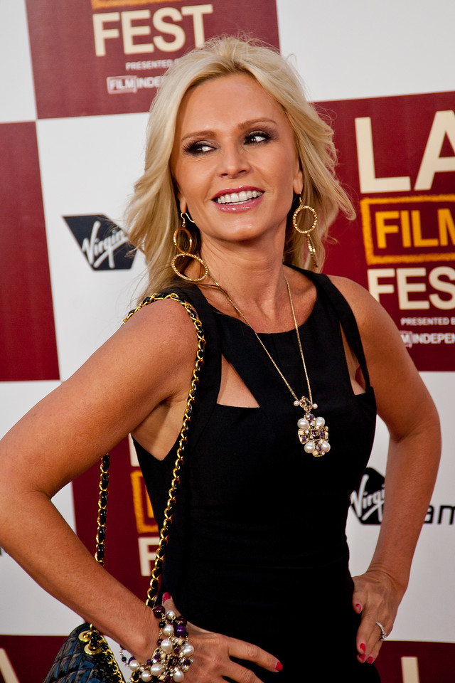 LOS ANGELES, CA: TV Personality Tamra Barney arrives at the 2012 Los Angeles Film Festival premiere of 'People Like Us' at Regal Cinemas L.A. LIVE Stadium 14 on June 15, 2012 in Los Angeles, California. (Photo by Tom Sorensen/Moovieboy Pictures)