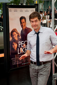 LOS ANGELES, CA: Actor Mark Duplass arrives at the 2012 Los Angeles Film Festival premiere of 'People Like Us' at Regal Cinemas L.A. LIVE Stadium 14 on June 15, 2012 in Los Angeles, California. (Photo by Tom Sorensen/Moovieboy Pictures)