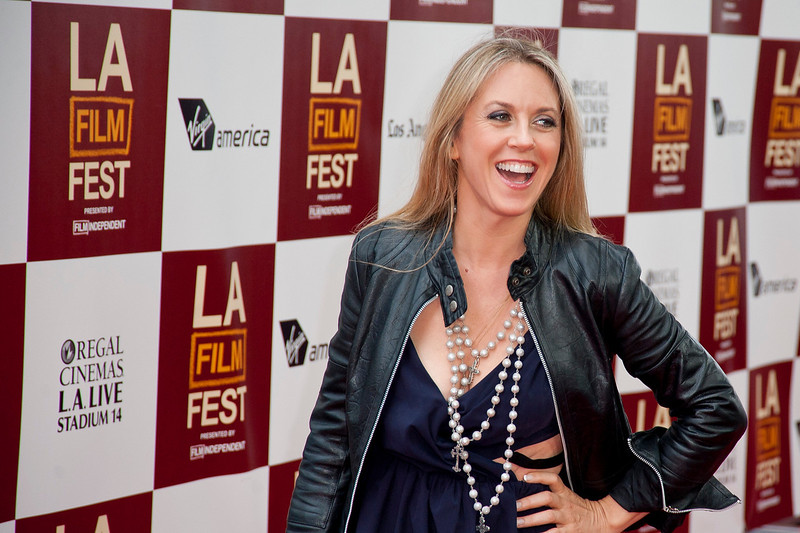 LOS ANGELES, CA: Singer Liz Phair attends at the 2012 Los Angeles Film Festival premiere of 'People Like Us' at Regal Cinemas L.A. LIVE Stadium 14 on June 15, 2012 in Los Angeles, California. (Photo by Tom Sorensen/Moovieboy Pictures)