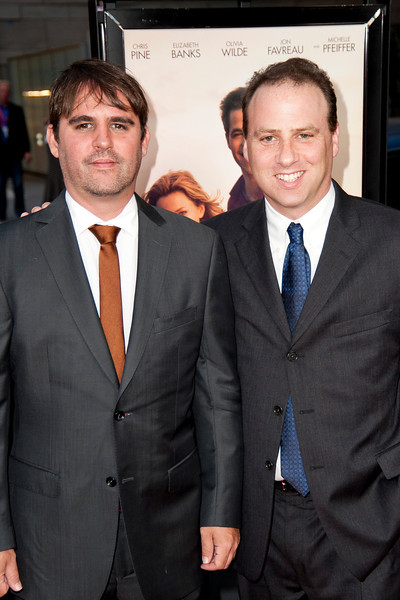 LOS ANGELES, CA: Producers Roberto Orci and Bobby Cohen arrive at the 2012 Los Angeles Film Festival premiere of 'People Like Us' at Regal Cinemas L.A. LIVE Stadium 14 on June 15, 2012 in Los Angeles, California. (Photo by Tom Sorensen/Moovieboy Pictures)