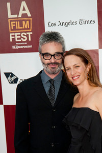 LOS ANGELES, CA: Director Alex Kurtzman (R) and Samantha Kurtzman-Counter arrive at the 2012 Los Angeles Film Festival premiere of 'People Like Us' at Regal Cinemas L.A. LIVE Stadium 14 on June 15, 2012 in Los Angeles, California. (Photo by Tom Sorensen/Moovieboy Pictures)