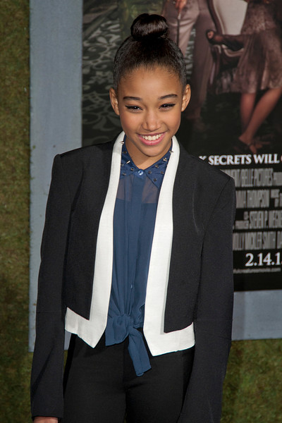 HOLLYWOOD, CA - FEBRUARY 06: Actress Amandla Stenberg attends the Los Angeles premiere of Warner Bros. Pictures' 'Beautiful Creatures' at TCL Chinese Theatre on Wednesday February 6, 2013 in Hollywood, California. (Photo by Tom Sorensen/Moovieboy Pictures)