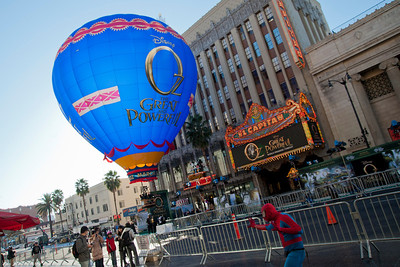 HOLLYWOOD; CA - FEBRUARY 13: Atmosphere at the world premiere of Walt Disney Pictures' 'Oz The Great And Powerful' at the El Capitan Theatre on Wednesday February 13; 2013 in Hollywood; California. (Photo by Tom Sorensen/Moovieboy Pictures)