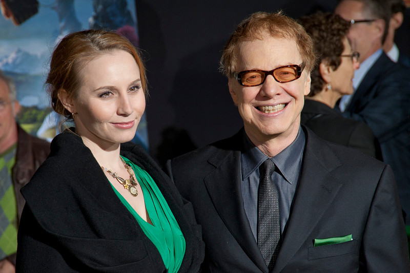 HOLLYWOOD; CA - FEBRUARY 13: Composer Danny Elfman (R) and Mali Elfman arrive at the world premiere of Walt Disney Pictures' 'Oz The Great And Powerful' at the El Capitan Theatre on Wednesday February 13; 2013 in Hollywood; California. (Photo by Tom Sorensen/Moovieboy Pictures)