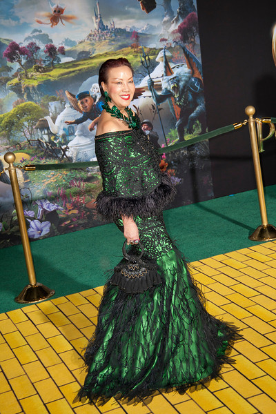 HOLLYWOOD; CA - FEBRUARY 13: Designer Sue Wong arrives at the world premiere of Walt Disney Pictures' 'Oz The Great And Powerful' at the El Capitan Theatre on Wednesday February 13; 2013 in Hollywood; California. (Photo by Tom Sorensen/Moovieboy Pictures)