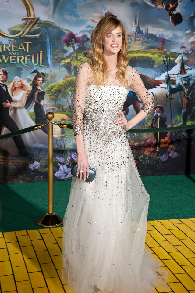 HOLLYWOOD; CA - FEBRUARY 13: Model Taylor Bagley arrives at the world premiere of Walt Disney Pictures' 'Oz The Great And Powerful' at the El Capitan Theatre on Wednesday February 13; 2013 in Hollywood; California. (Photo by Tom Sorensen/Moovieboy Pictures)