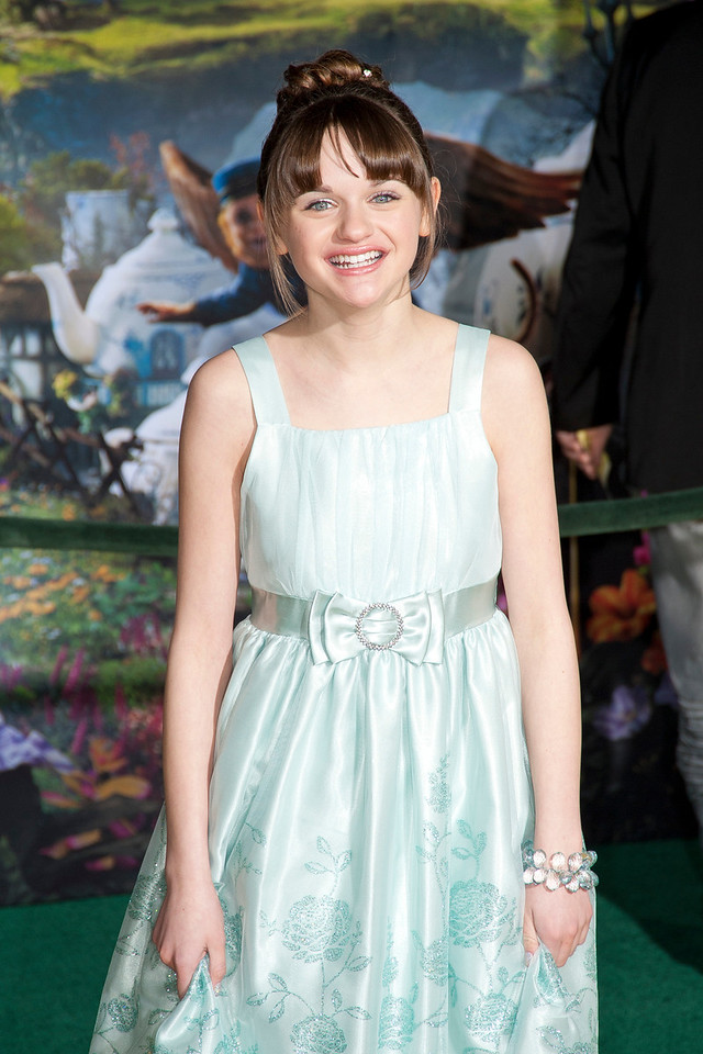 HOLLYWOOD; CA - FEBRUARY 13: Actress Joey King arrives at the world premiere of Walt Disney Pictures' 'Oz The Great And Powerful' at the El Capitan Theatre on Wednesday February 13; 2013 in Hollywood; California. (Photo by Tom Sorensen/Moovieboy Pictures)