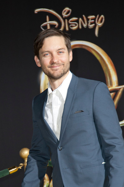 HOLLYWOOD; CA - FEBRUARY 13: Actor Tobey Maguire arrives at the world premiere of Walt Disney Pictures' 'Oz The Great And Powerful' at the El Capitan Theatre on Wednesday February 13; 2013 in Hollywood; California. (Photo by Tom Sorensen/Moovieboy Pictures)