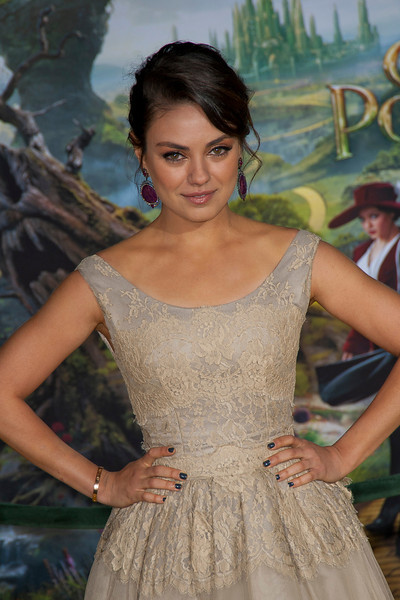 HOLLYWOOD; CA - FEBRUARY 13: Actress Mila Kunis arrives at the world premiere of Walt Disney Pictures' 'Oz The Great And Powerful' at the El Capitan Theatre on Wednesday February 13; 2013 in Hollywood; California. (Photo by Tom Sorensen/Moovieboy Pictures)