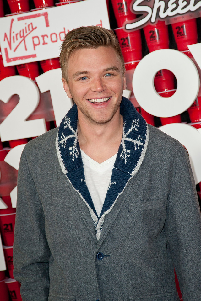 WESTWOOD, CA - FEBRUARY 21: Actor Brett Davern attends Relativity Media's '21 and Over' premiere at Westwood Village Theatre on Thursday, February 21, 2013 in Westwood, California. (Photo by Tom Sorensen/Moovieboy Pictures)