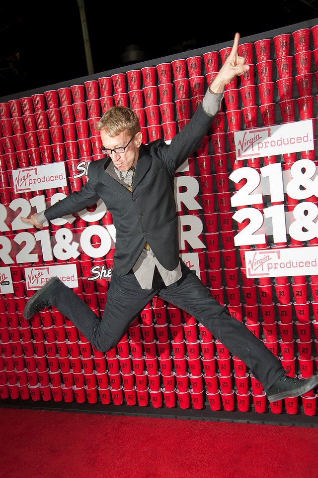 WESTWOOD, CA - FEBRUARY 21: Actor Andy Dick attends Relativity Media's '21 and Over' premiere at Westwood Village Theatre on Thursday, February 21, 2013 in Westwood, California. (Photo by Tom Sorensen/Moovieboy Pictures)