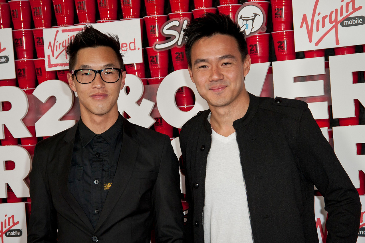 WESTWOOD, CA - FEBRUARY 21: Wesley Chan and Philip Wang attend Relativity Media's '21 and Over' premiere at Westwood Village Theatre on Thursday, February 21, 2013 in Westwood, California. (Photo by Tom Sorensen/Moovieboy Pictures)