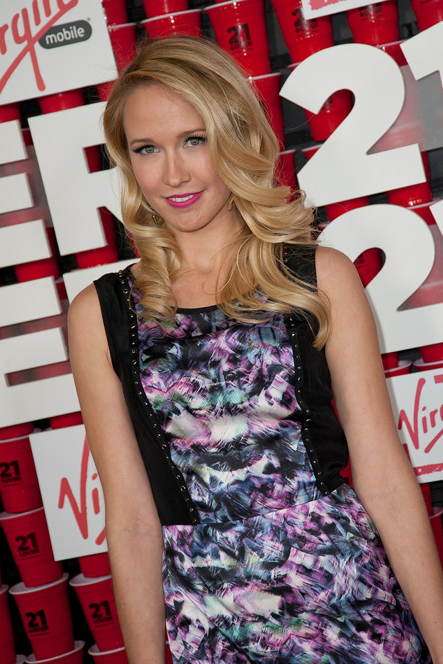 WESTWOOD, CA - FEBRUARY 21: Actress Anna Camp attends Relativity Media's '21 and Over' premiere at Westwood Village Theatre on Thursday, February 21, 2013 in Westwood, California. (Photo by Tom Sorensen/Moovieboy Pictures)